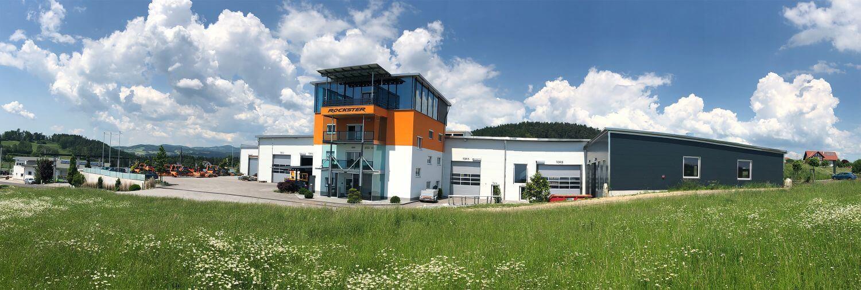 Büro- und Produktionsgebäude von Rockster