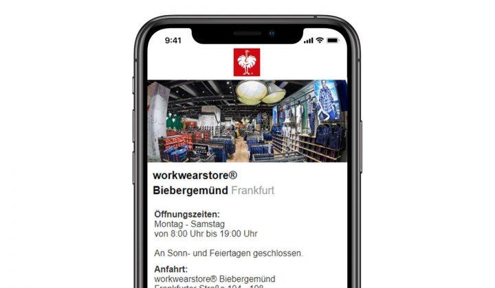 Workwear-App von Engelbert Strauss