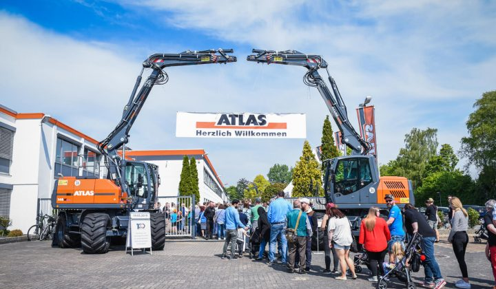 Firmenjubiläum und Tag der offenen Tür bei Atlas
