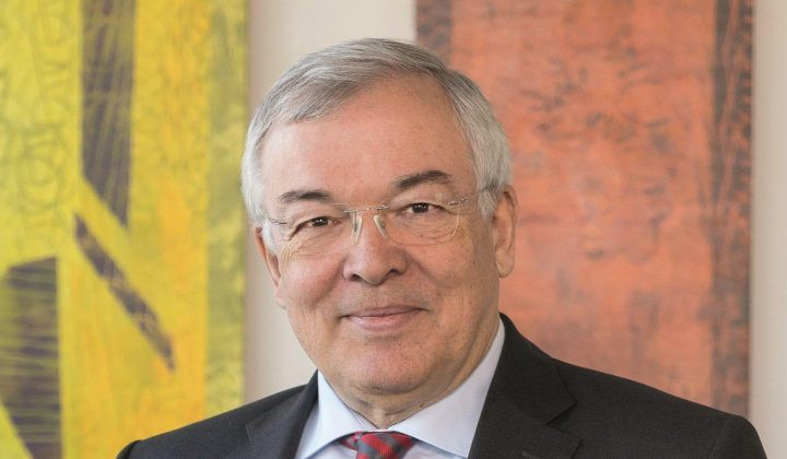 Thomas Bauer, Vizepräsident des Verbands der Europäischen Bauwirtschaft