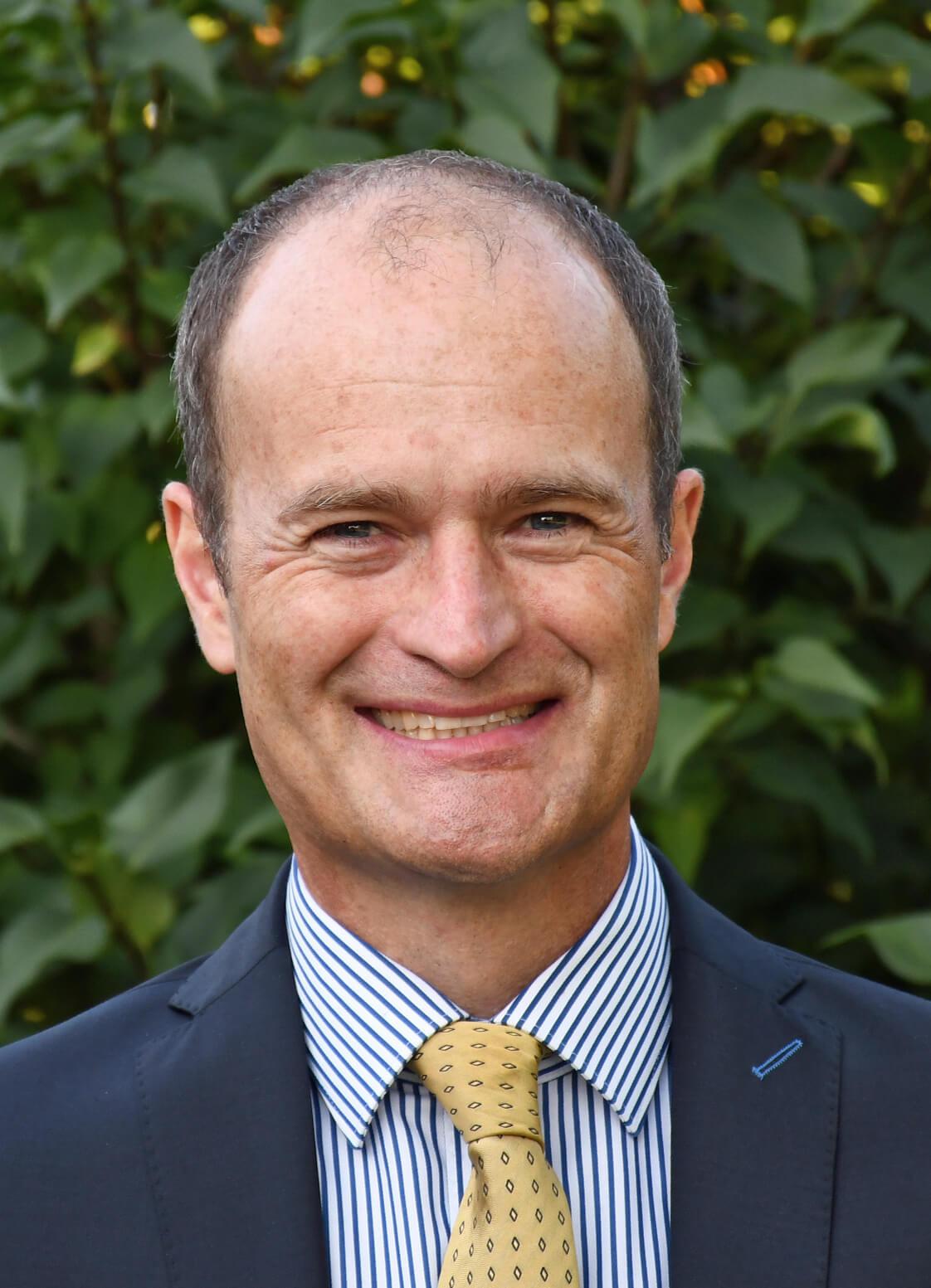 Bernd Landes, Chief Digital Officer bei Zeppelin Baumaschinen