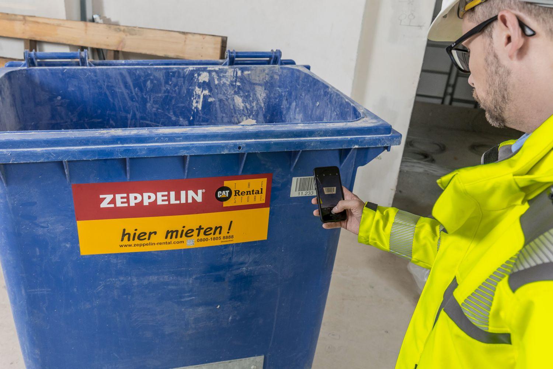 Zeppelin Rental Baulogistik