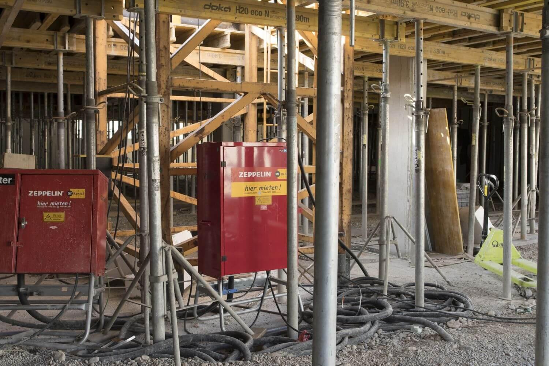 Großgeräteverteiler zur Energieversorgung auf der Baustelle