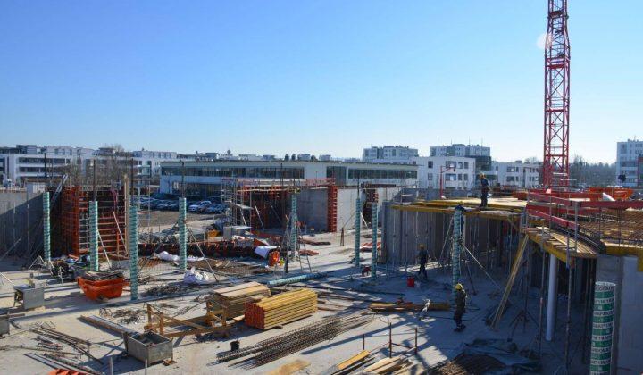Paschal-Schalungssystem im Baustelleneinsatz