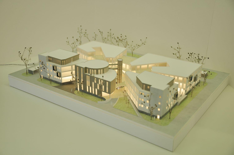 Modell des LTC in Karlsruhe
