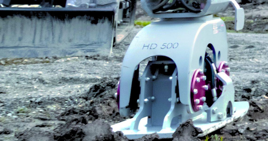 Rototop-Drehantrieb von Holp mit Anbauverdichter