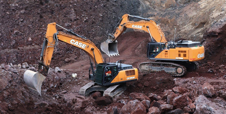 Case CX750D und CX350D