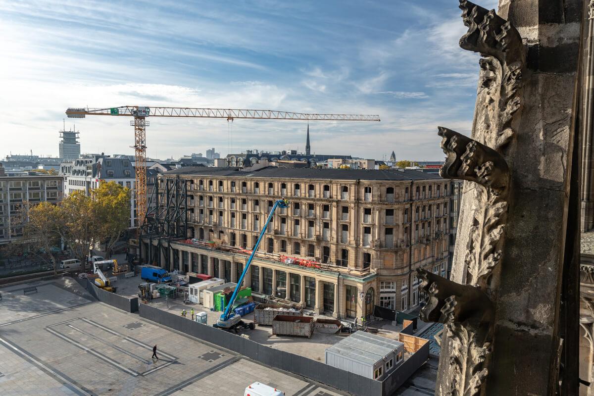 Abbruchprojekt am Kölner Dom