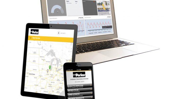 Mobile-IoT-Lösung von Parker Hannifin