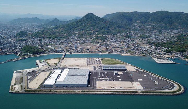 Luftaufnahme des Tadano-Werks