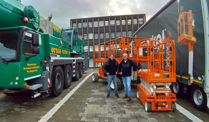 Elektro-Arbeitsbühnen von Ahern Deutschland