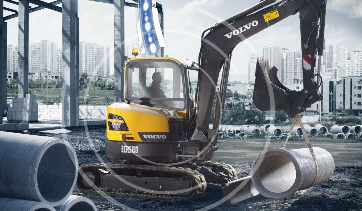 Telematiksystem Care-Track von Volvo CE