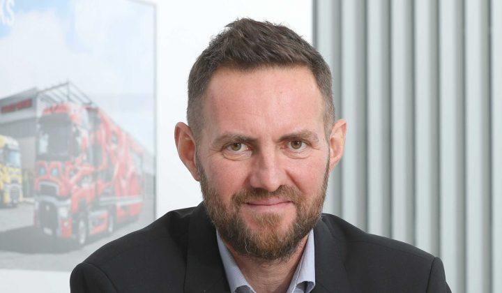 Frederic Ruesche, Geschäftsführer von Renault Trucks Deutschland