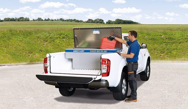 Transportbox für einen Pick-Up