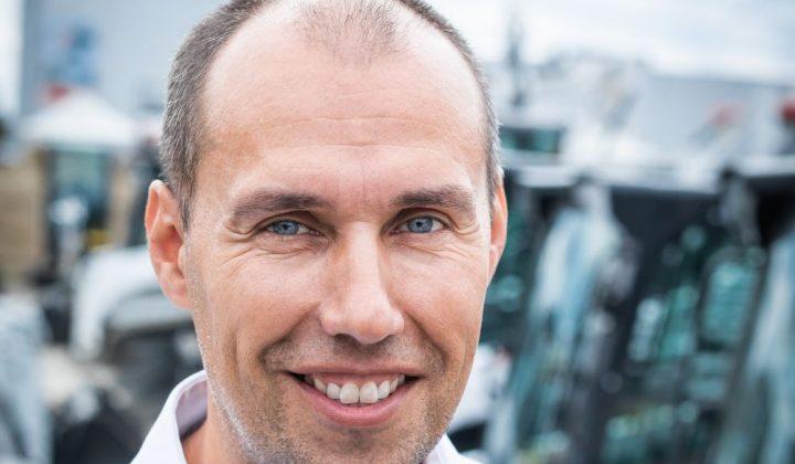 Jarry Fišer, Produktlinienleiter der Bobcat-Kompaktladersparte
