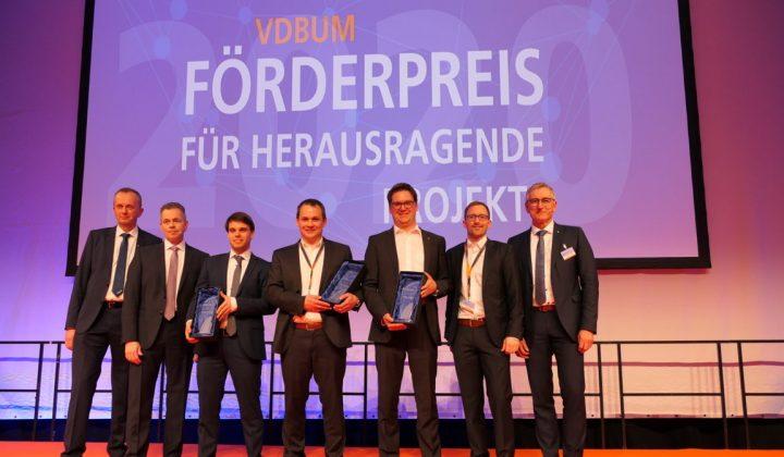 Verleihung des VDBUM-Förderpreises 2020