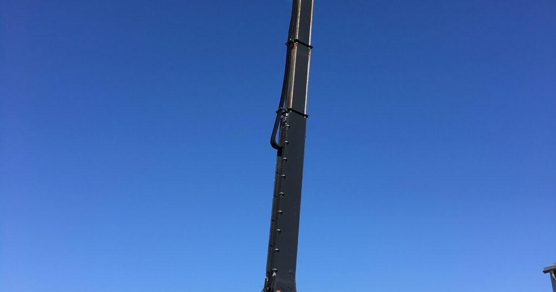 Deutschlands größte Abrissmaschine: Der 230-t-Bagger KMC1600S