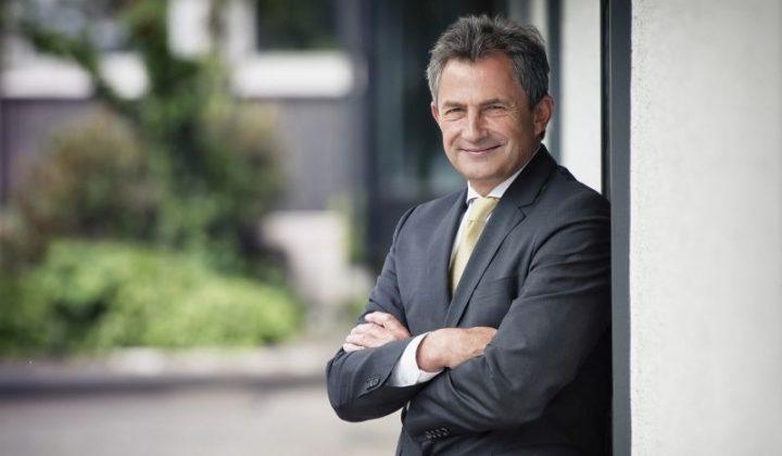 Bauindustrie-Präsident Peter Hübner