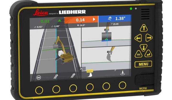 Liebherr, Partnerschaft mit Leica Geosystems