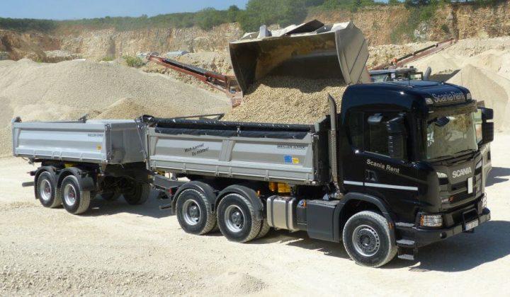 Scania Kipper G 450 XT